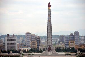 Mengunjungi Juche Tower Di Korea Utara